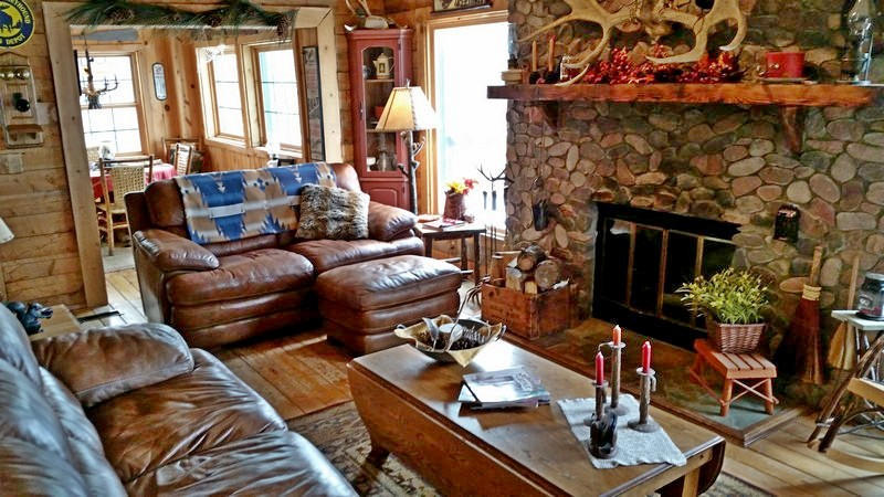estate htm cabin ski overlooking for brian sale real head resort cabins true log at